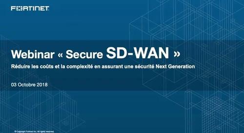 Webinaire Secure SD-WAN
