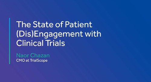 The State of Patient (Dis)Engagement with Clinical Trials
