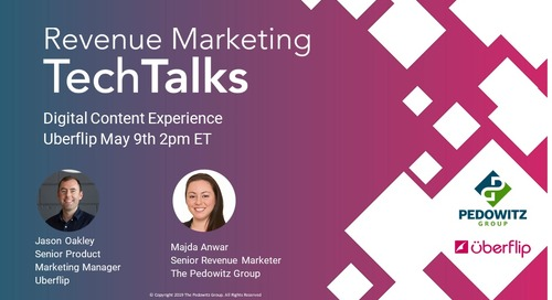 Marketing TechTalk - Digital Content Experience - Uberflip