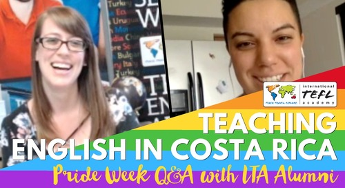 LGBTQ+ Teaching English in San Jose, Costa Rica with Natalia Ramos