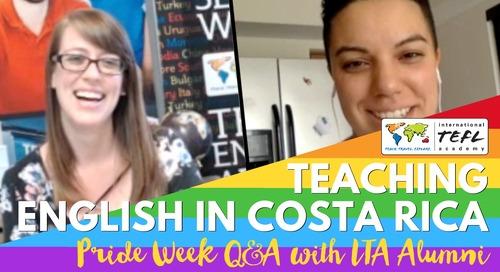 LGBTQ&A: Teaching English in San Jose, Costa Rica with Natalia Ramos