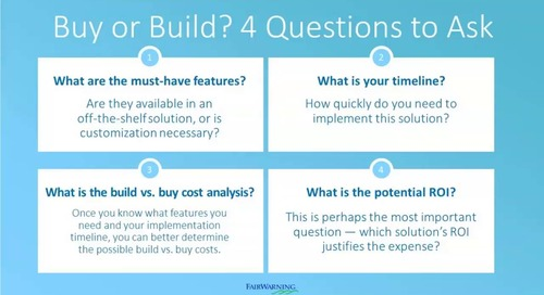 Build or Buy: Choosing a Path for Salesforce Security