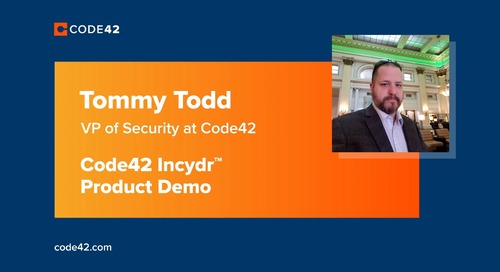 Incydr Product Demo With Code42's VP of Security