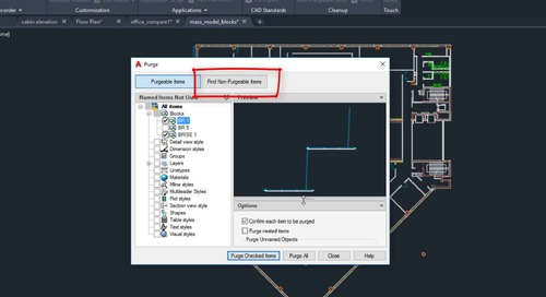 AutoCAD 2020 Feature Demo: Purge Redesign