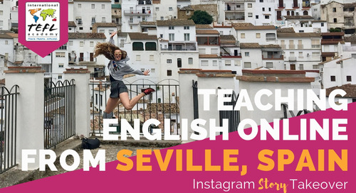 Day in the Life Teaching English Online from Seville, Spain with Alex LaRosa