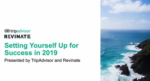 Setting yourself up for success in 2019 with TripAdvisor and Revinate