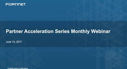 Partner Acceleration Series Webcast - June 2017