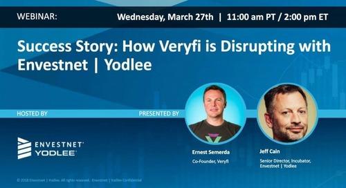On-Demand Webinar: Success Story: How Veryfi is Disrupting with Envestnet | Yodlee