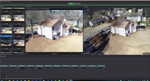 Combining laser scans with drone footage for investigations (webinar)