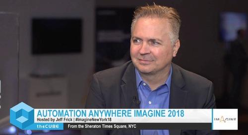 Weston Jones, EY, Imagine New York 2018 Interview