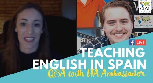 Teach English in Valencia, Spain - TEFL Q&A with Molly Ryan