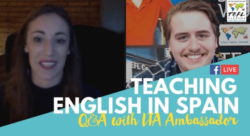 Teach English in Valencia, Spain - TEFL Q&A with Molly Ryan