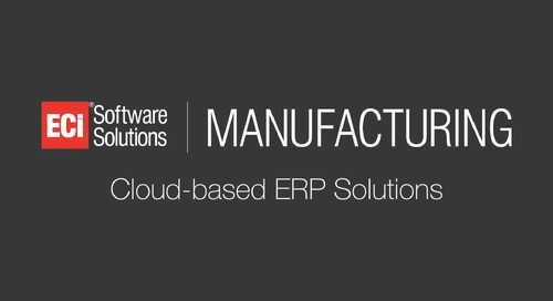 Visibility and Insight into Your Manufacturing Operations