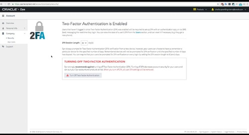 How to: Add 2FA Security to DNS account access