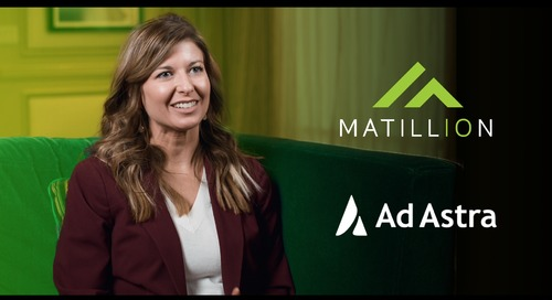 "Learn how Ad Astra uses Matillion to take the ""black box"" effect out of its data"
