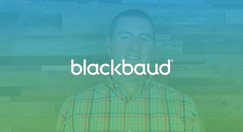 Introduction to Blackbaud Student Information System