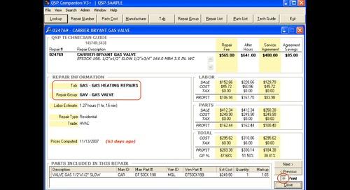 QSP Office Implementation