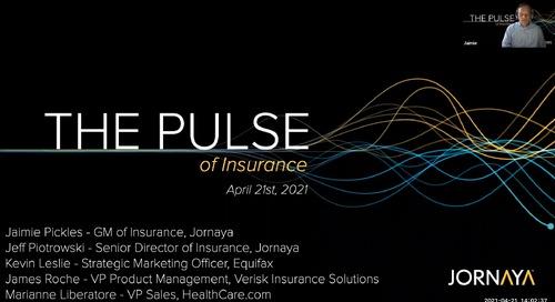 Pulse of Insurance Webinar
