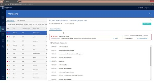 Improved Audit with Privileged Session Manager