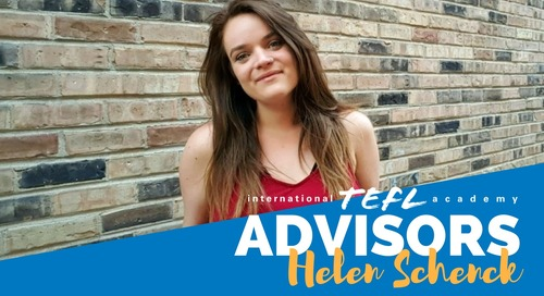 International TEFL Academy Advisor - Helen Schenck