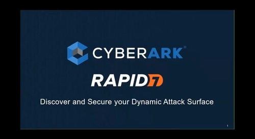 Discover and Secure your Dynamic Attack Surface