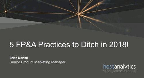 5 FPA Practices to Ditch in 2018