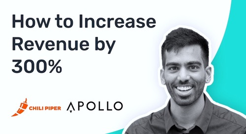 How Apollo Used Chili Piper to Increase Revenue by 300%