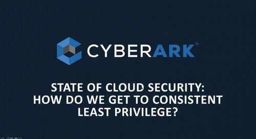 State of Cloud Security: How do we get to Consistent Least Privilege?