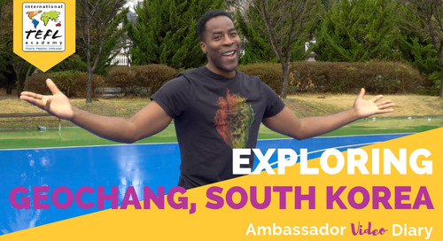 Exploring Geochang, South Korea with Tim Unaegbu