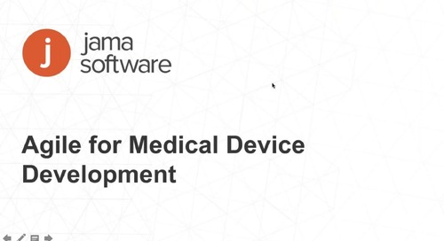 Agile for Medical Device Development