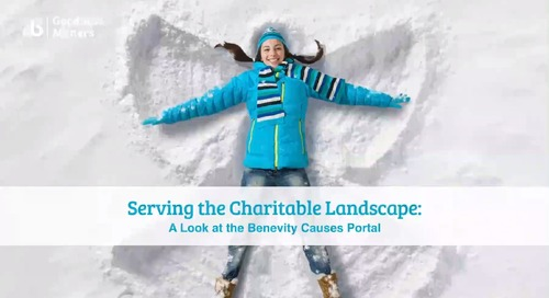 Serving the Charitable Landscape: A Look at the Benevity Causes Portal