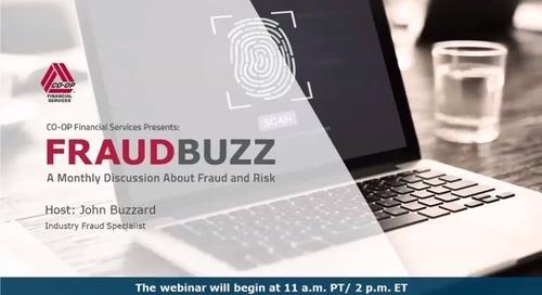 FraudBuzz Webinar - November 2019