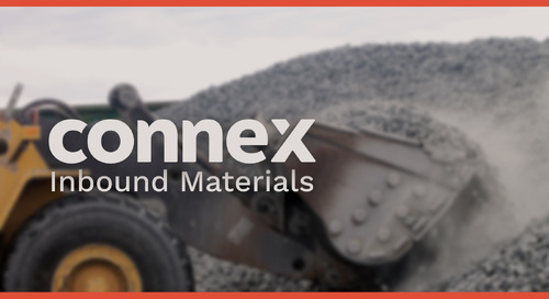 Introducing CONNEX Inbound Materials