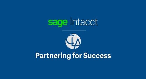 Sage Intacct Partner Clifton Larson Allen || Abe Mathew