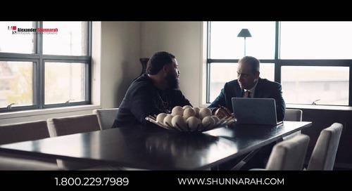 Shunnarah Call Me Alabama Commercial