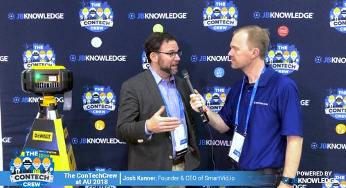 The ConTechCrew at AU 2018: Rob McKinney chats with Josh Kanner from SmartVidio