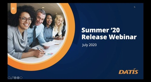 Summer '20 Release Preview Webinar