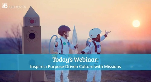 Inspire a Purpose-Driven Culture with Missions