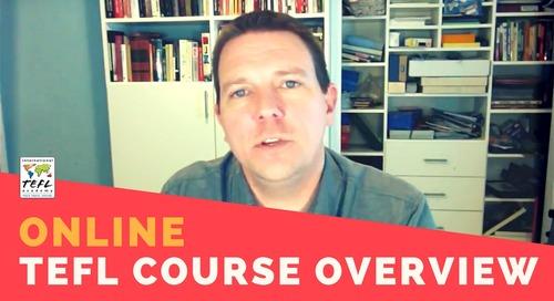 Online TEFL Class Overview