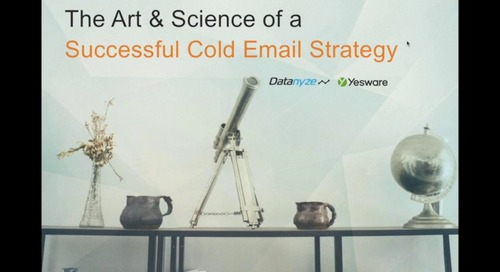 [Webinar] The Art and Science of a Successful Cold Email Strategy