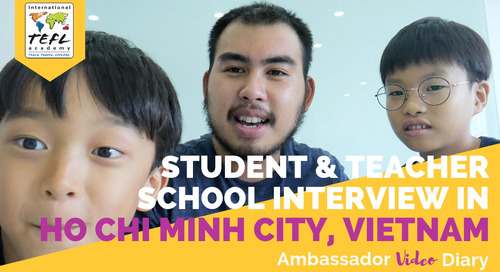 Student & Teacher School Interview in Ho Chi Minh City, Vietnam with Kenny Nguyen