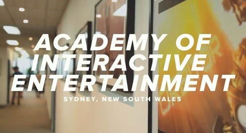 Academy of Interactive Entertainment & Canvas- A Global Community of Learning