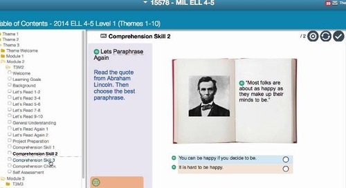 Demo: English Language Learner Digital Curriculum