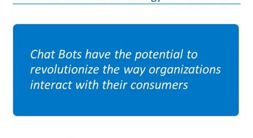 On-Demand Webinar: Boosting Customer Engagement with Next Generation Chatbots Webinar