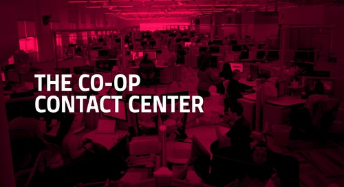 CO-OP Contact Center - The Contact Center That Never Sleeps