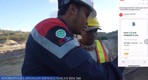 5D BIM Temef Dam project