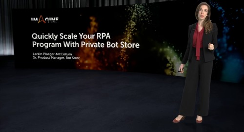 Quickly Scale your RPA Program with Private Bot Store