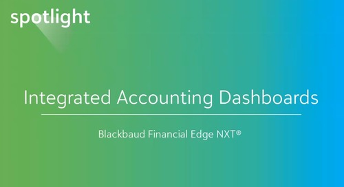 Integrated Accounting Dashboards