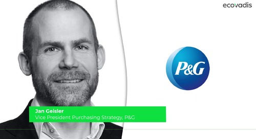 P&G Talks About Rethinking Procurement Strategy With Sustainability
