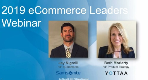 Webinar: Samsonite and eCommerce Leaders Survey Results